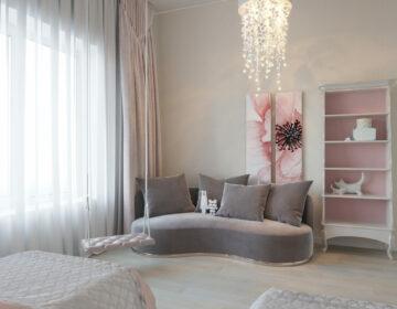 "Квартира ЖК ""Парковый квартал"", дизайнер Гордеева Дарья"