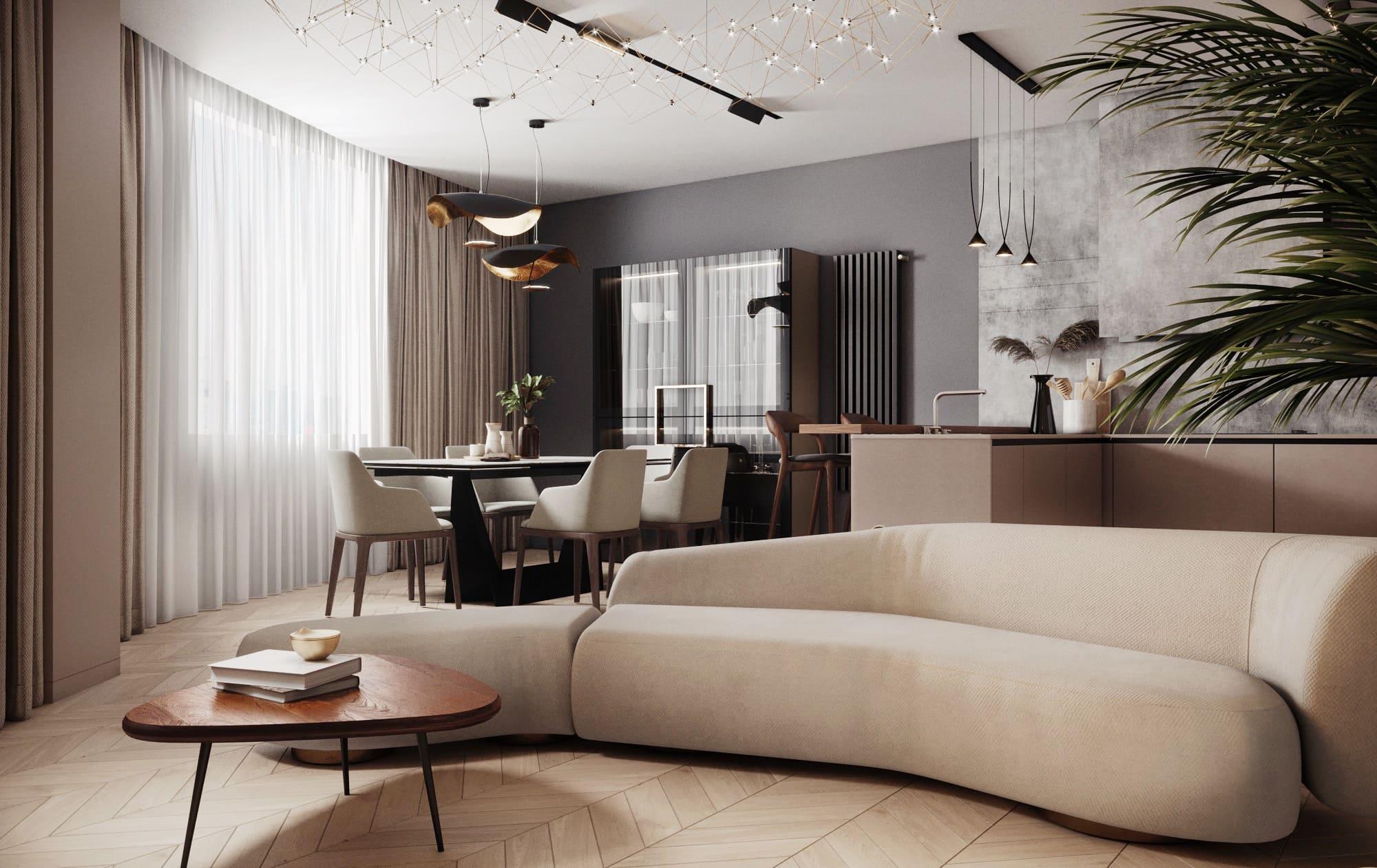 4х комнатная квартира в ЖК «Москва»